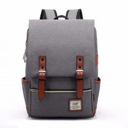 Retro batoh - šedý