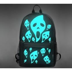 Svítící batoh - Scary faces