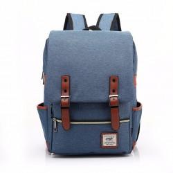 Retro batoh - modrý